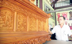Làng mộc Đông Khương: Thưa cha chúng con sẽ về