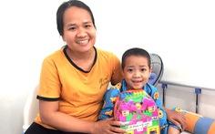 45 bệnh nhi ung thư nhận quà như ước nguyện, chỉ 1 bé không thể nhận