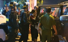 Video: Đặc nhiệm làm việc xuyên đêm với nhóm đòi nợ ở Đồng Nai