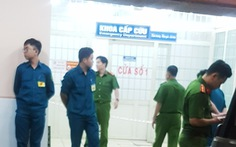 Nạn nhân tự sát tại Bệnh viện Trưng Vương bằng súng K59