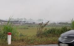 Ô nhiễm không khí khủng khiếp, khói rác vẫn mịt mù Hưng Yên