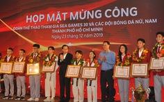 TP.HCM vinh danh vận động viên thành tích cao tại SEA Games 30