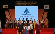 Office Saigon đạt 'Top 10 thương hiệu dẫn đầu Việt Nam 2019'