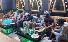Nửa đêm phát hiện 58 thanh niên sử dụng ma túy trong quán karaoke