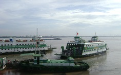 Tết dương lịch: Phà Cát Lái, Bình Khánh tăng gấp đôi số chuyến