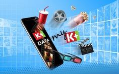 Giải trí cùng kho phim, clip với K+ Data của MobiFone