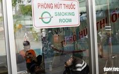 TP.HCM lần đầu xử phạt 114 người hút thuốc lá ở bến xe