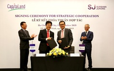 CapitaLand Việt Nam hợp tác Surbana Jurong phát triển đô thị thông minh bền vững