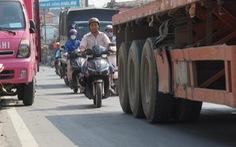 Cận cảnh con đường tử thần ở Sài Gòn mỗi tháng đều có người chết vì tai nạn giao thông