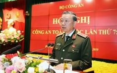 Bộ trưởng Bộ Công an Tô Lâm yêu cầu triệt xóa bằng được các băng nhóm tội phạm