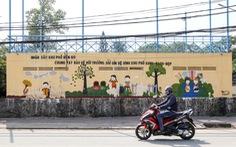 Biến những bức tường cũ thành tác phẩm nghệ thuật bảo vệ môi trường