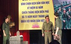Cha con nhà viết kịch Lưu Quang Thuận - Lưu Quang Vũ cùng được vinh danh