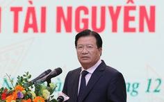Phó thủ tướng Trịnh Đình Dũng: Ứng phó sự cố môi trường còn bị động, lúng túng