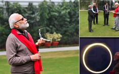 Ai được chọn là 'thủ tướng ngầu nhất' khi xem nhật thực?
