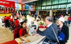 Các hãng hàng không mới bán được 40-45% vé tết