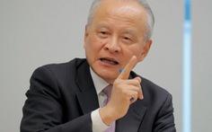 Đại sứ Trung Quốc: Mỹ muốn có thỏa thuận tốt, đừng xen vào Đài Loan