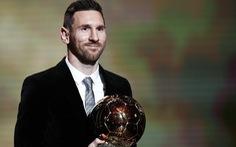 Đánh bại Van Dijk, Messi lập kỷ lục giành 6 Quả bóng vàng