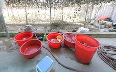 Người dân thị trấn Nghèn vui mừng đón nước sạch về