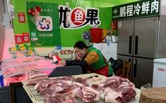 Trung Quốc rã đông hơn 100.000 tấn thịt heo trước Tết Nguyên đán