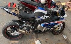 Công an TP.HCM truy xét nhóm trộm môtô BMW rồi 'bỏ của chạy lấy người'