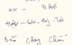 Ông Park ghi gì ở mảnh giấy khi đổi Trọng Hoàng thay Tấn Tài trước trận gặp Singapore?