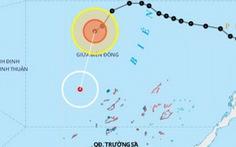 Bão suy yếu thành áp thấp, biển Quảng Trị - Cà Mau gió giật cấp 7