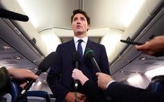 Thủ tướng Canada Justin Trudeau liên tiếp gặp xui với 'chuyên cơ'