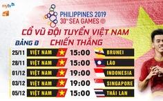 Truyền hình MyTV tiếp phát Đại hội thể thao Đông Nam Á SEA Games 30