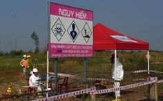 Bắt đầu tẩy rửa điểm 'nóng' dioxin lớn nhất ở Việt Nam
