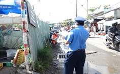TP.HCM xử phạt 19 nhà thầu do tái lập mặt đường bê bối