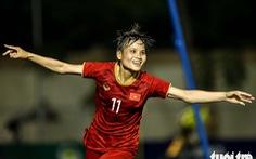 Trận đấu quả cảm của các nữ tuyển thủ Việt Nam