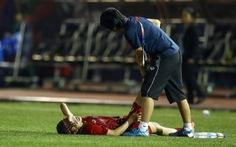 Cầu thủ nữ Việt Nam phải massage cả tối sau trận thắng Philippines