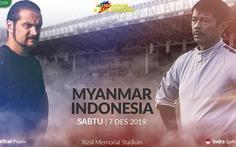 U22 Myanmar - Indonesia (hiệp 1): 0-0