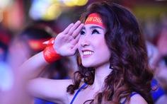 Phố đi bộ Nguyễn Huệ rực cờ cổ vũ thầy trò HLV Park Hang Seo