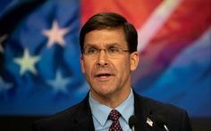 Bộ trưởng quốc phòng Mỹ: 'Trung Quốc không có quyền biến vùng biển quốc tế thành của riêng họ'