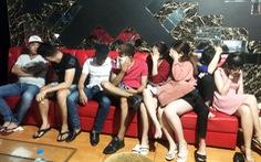 25 người sử dụng ma túy trong quán karaoke ở Long An