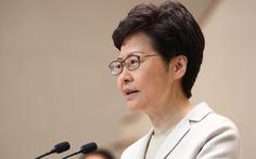 Sếp Hong Kong nói 'sẽ báo cáo đầy đủ với trung ương' trong lần thăm tới
