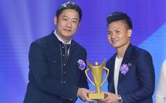 Quang Hải giành danh hiệu VĐV nam của năm - Cup Chiến thắng 2018