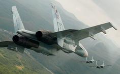Báo Nga khoe tiêm kích Su-27 tạt đầu ép tiêm kích Mỹ