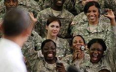 Nữ lẫn nam học viên quân sự Mỹ đều bị quấy rối tình dục