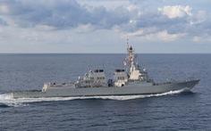 Mỹ điều 2 tàu khu trục đến gần quần đảo Trường Sa