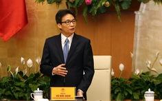 Phó thủ tướng gặp gỡ các nhà khoa học biên soạn bộ quốc sử