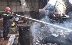Lửa từ tia điện đốt cháy công ty sản xuất gỗ đầu năm