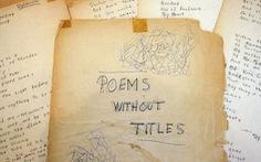 Bảo tàng Mỹ trưng bày bản thảo viết tay của Bob Dylan