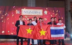 Học sinh Hà Nội giành huy chương vàng 'Tìm kiếm tài năng toán học quốc tế' 2019