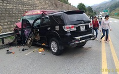 Vụ tông ôtô trên cao tốc: cả hai lái xe đều có nồng độ cồn