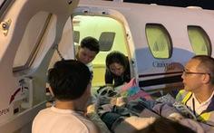 Nạn nhân bị tạt axít ở Quảng Ngãi điều trị bước đầu tại Bangkok