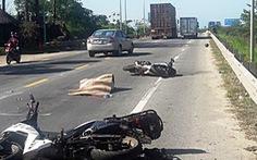 Xe máy va chạm với xe đầu kéo, nữ du khách nước ngoài tử vong