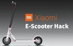 Xe điện Scooter của Xiaomi có thể bị hack và tăng tốc từ xa