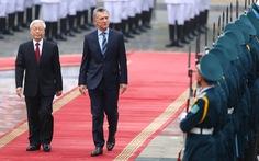 Việt Nam - Argentina hướng tới đối tác chiến lược